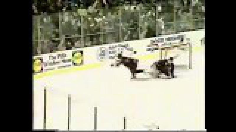 Alex Mogilny backchecks and assists on Patty La La vs Senators (1992)