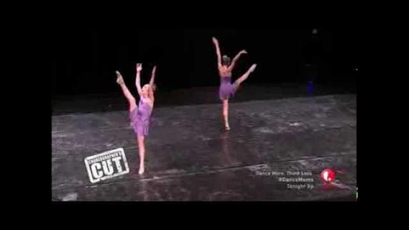 Confessions - Chloe Lukasiak Maddie Ziegler - Full Duet - Dance Moms Choreographers Cut
