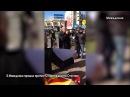 Македонцы встретили Столтенберга сожжением флага НАТО