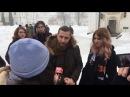 В Києво-Печерській Лаврі пройшов молебень патріотів України!