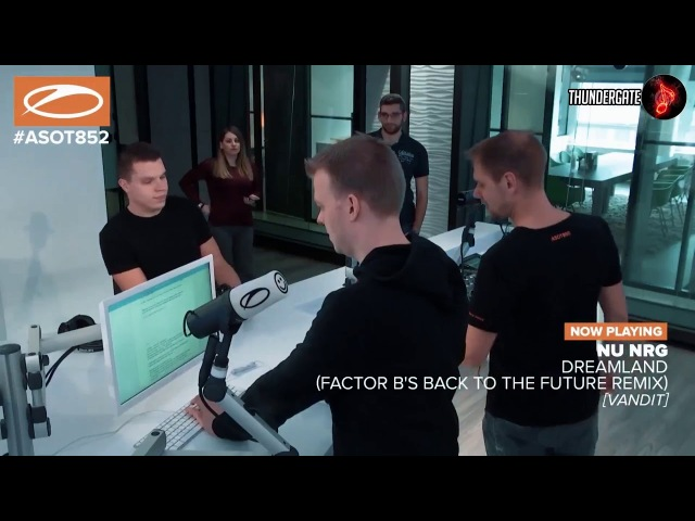 Nu NRG - Dreamland (Factor B's Back To The Future Remix) [Taken From ASOT852]