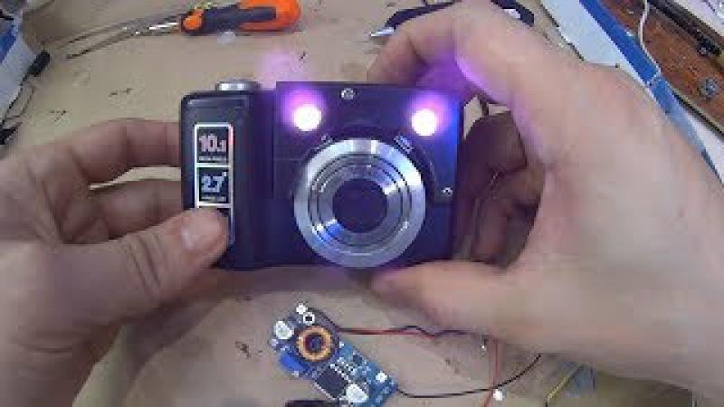 Самодельный Прибор Ночного видения из Старого Фотоаппарата ПНВ своими руками
