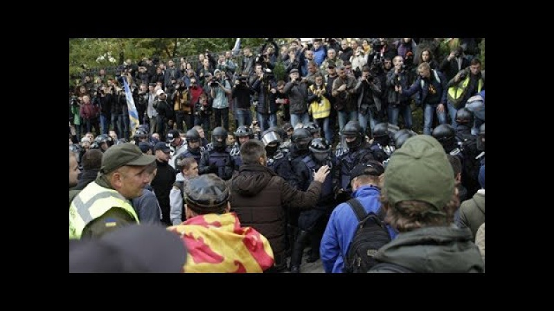 Паника на майдане. Как забегали главари переворота. В.Олейник раскрыл Авакова