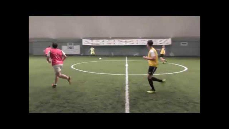 Видеообзор 16 03 2018 Метро Марьина Роща Любительский футбол