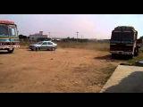 nitish car driving ford ikon - part 2
