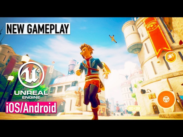 OCEANHORN 2 - iOS / Android - NEW GAMEPLAY SCREENSHOTS (Unreal Engine 4)