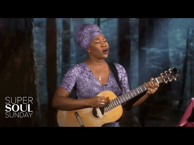 India.Arie Performs Break the Shell | SuperSoul Sunday | Oprah Winfrey Network