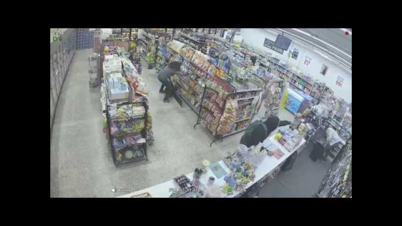 The most craziest convenient store footage you will ever see!