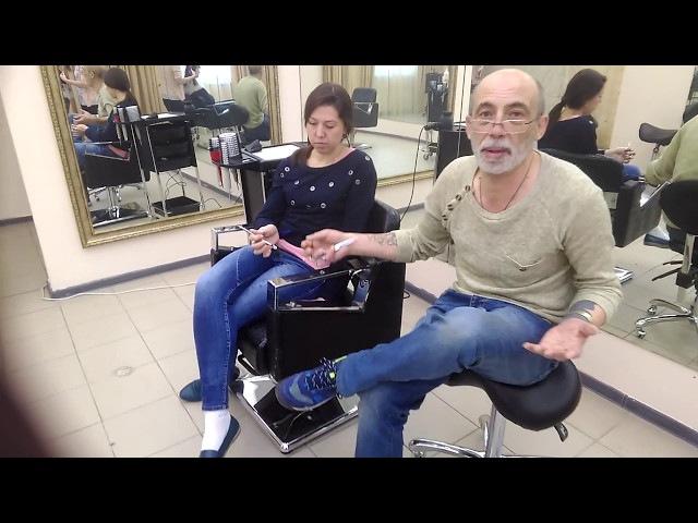 Как заточить дорогие профессиональные парикмахерские ножницы