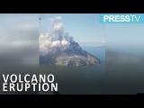 Papua New Guinea Dormant Kadovar Island volcano erupts