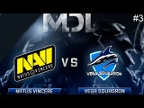 NaVi vs Vega RU #3 (bo3) MDL Changsha Major 2018 CIS Qual. 21.03.2018
