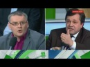 Ведущий НТВ Андрей Норкин в прямом эфире подрался с украинским экспертом