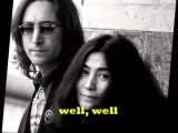 John Lennon-Woman With Lyrics