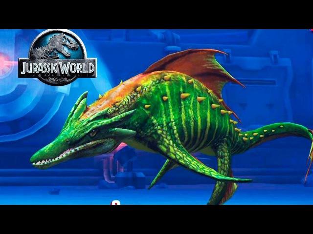 Кронозавр и немного попотел) Jurassic World The Game прохождение на русском