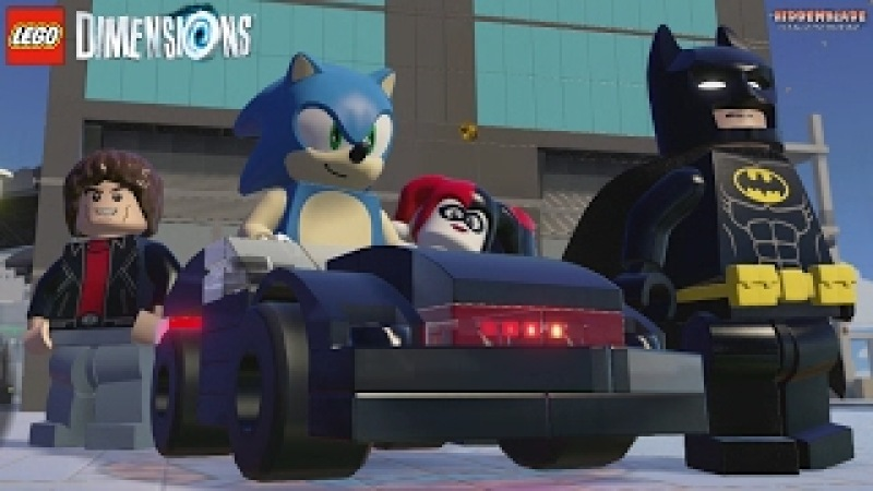 LEGO Dimensions: KITT Special Character Interactions 1 (Knight Rider)