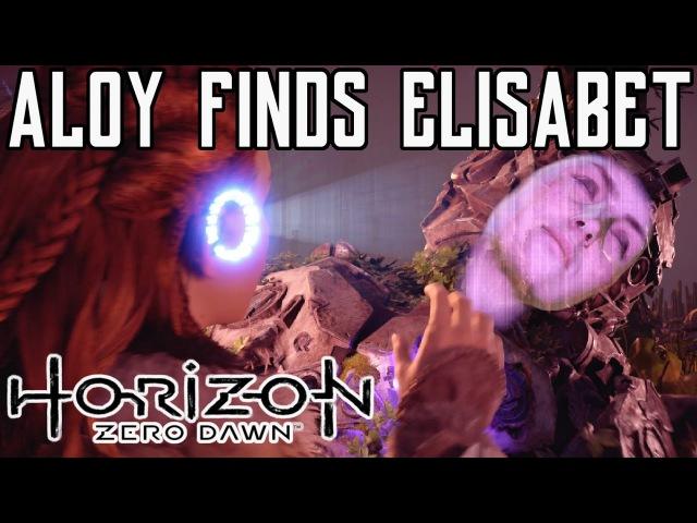 Horizon Zero Dawn Aloy finds ELISABET SOBECK Beautiful Ending Scene