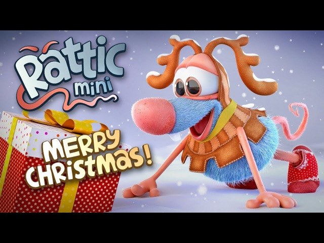Christmas Funny Cartoon | Rattic Mini – Merry Christmas | Funny Cartoons For Children Kids