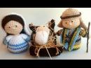 Presepe Amigurumi Tutorial (Maria) Parte 2 - Nativity Crochet - Pesebre Crochet
