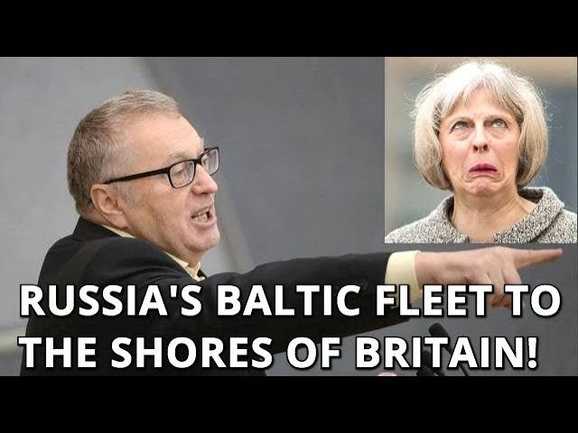 Zhirinovsky on Salisbury Issue: Russia Needs Only Two Rockets And British Isles Will Be Wiped Out!