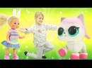 Видео про кукол Барби - Штеффи выбирает котёнка