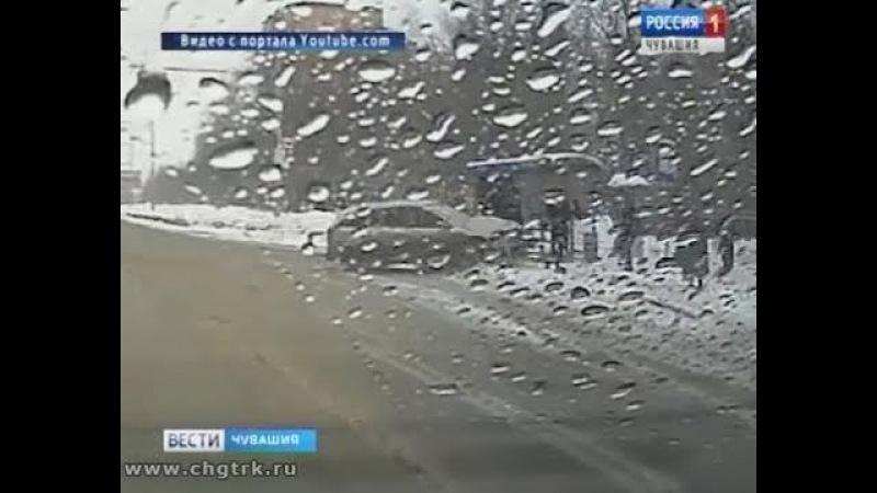 В ДТП в Новоюжном районе Чебоксар пострадала девушка-пешеход