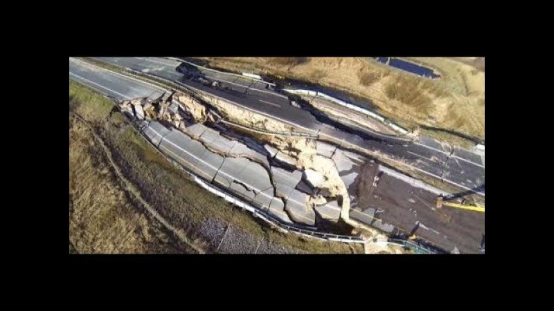 Horror-Umleitung: Wie Anwohner unter dem Krater auf der A20 leiden