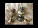Имитация старого серебра Новая жизнь старой керосиновой лампы времен СССР мастер класс