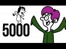 5000 ПОДПИСЧИКОВ ❤