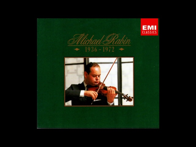 Henri Wieniawski Violin Concerto nr. 1 / Michael Rabin (EMI 6 CD 1936 - 1972) 1991