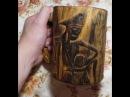 Деревянная кружка своими руками Wooden mug