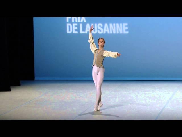 Jarod Curley 2015 Prix de Lausanne Finalist Classical variation