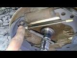 Замена задних тормозных колодок и устранение «ведра ключей» на Таврии-Славуте