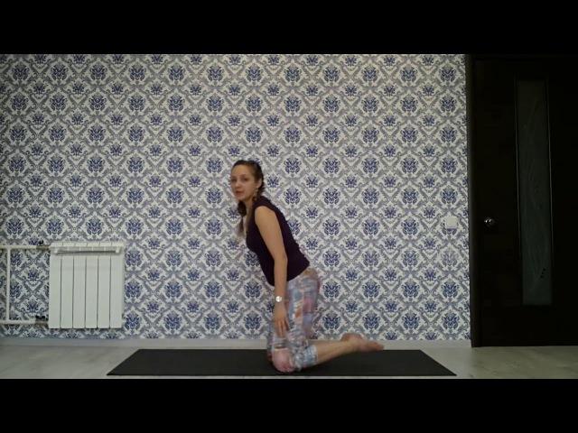 Йога для женщин   Урок 19 – Почувствуйте себя победителем! Вирасана – поза героя.