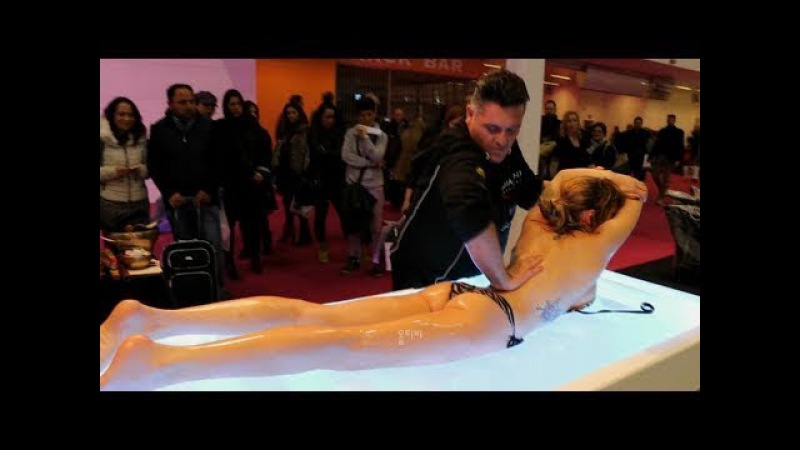 PEOPLE ARE AWESOME 2017 His Handskill that win a massage contest Best Massage GOD SKILL