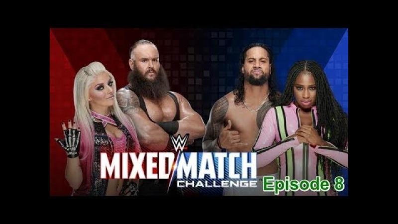 (Wrestling Premium) Braun Strowman Alexa Bliss vs Jimmy Uso Naomi - WWE MIXEd Match Challenge - 6th March 2018
