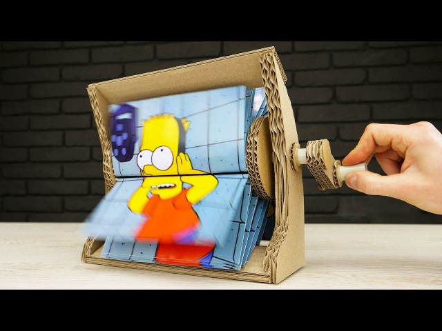 How to Make Flipbook Animation Machine at Home