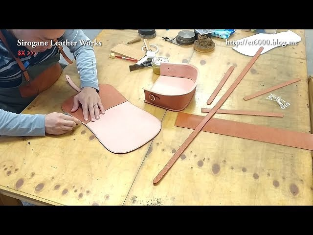 Sirogane Leather works - Making video part6 Finish