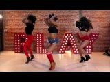 Juicy Booty Chris Brown Ft. Jhene Aiko &amp R Kelly Aliya Janell Heels Choreography