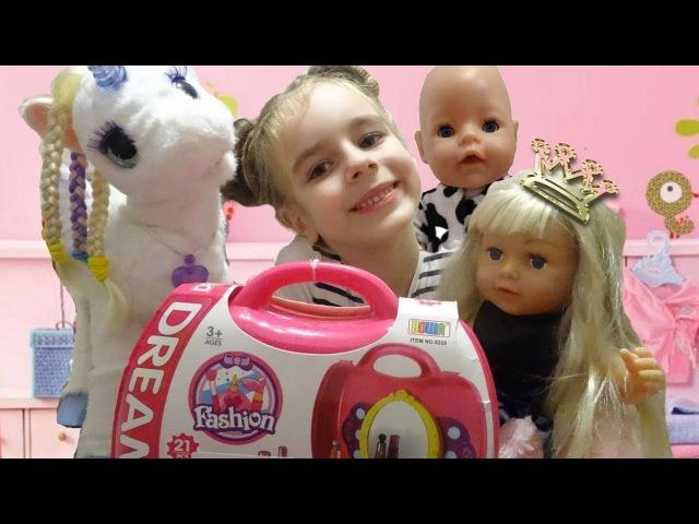 САЛОН КРАСОТЫ БЕБИ БОН Игрушки для девочек Набор парикмахера детский Fashion Dream По ...