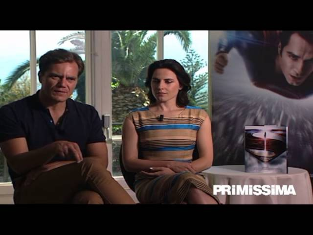 Interview with Michael Shannon and Antje Traue - Man of Steel