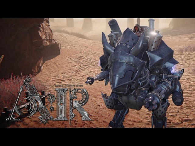 A:IR CBT Mecha Robot Short Gameplay