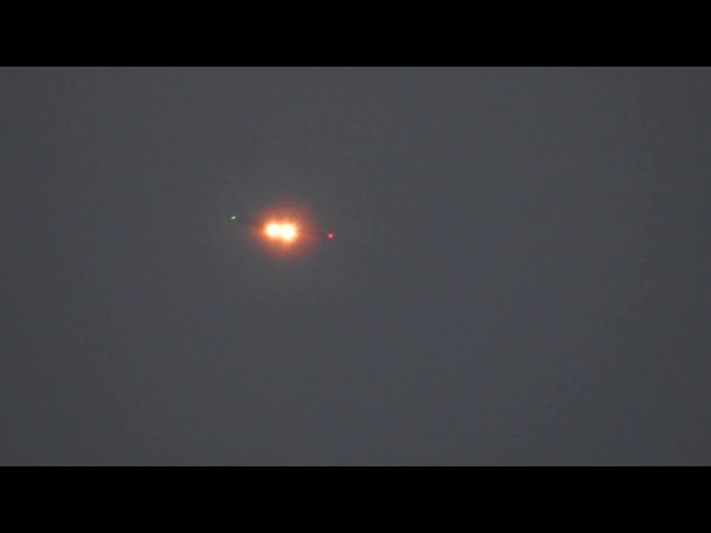 UFO sightings 2018 Luminous body~2,Angel's Ship~3,Shift to the form of airliner