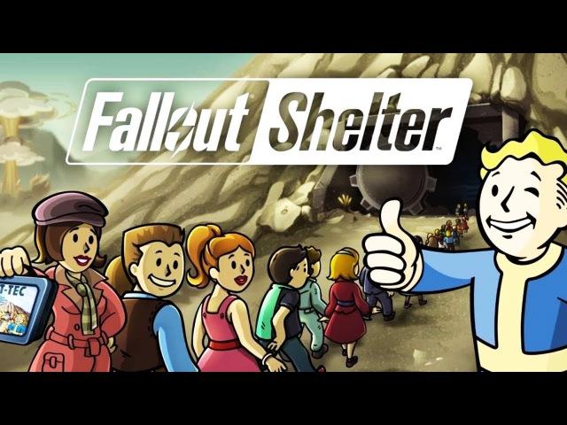 Fallout Shelter ПРОБЛЕМЫ С ГЕНЕРАТОРОМ Мульт игра про выживание в УБЕЖИЩЕ