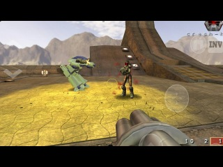 Quake 3 Arena HD Touch for Android, Mod Quake Draiv HD.(mod core)