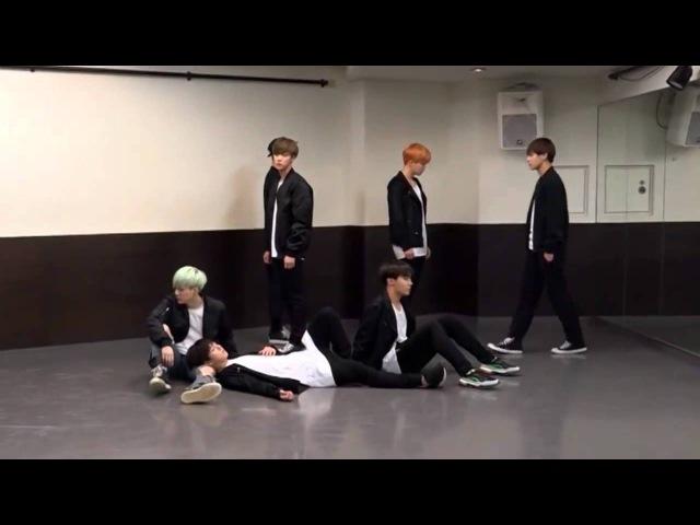 Корейские парни круто танцуют BTS RuN