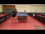 Tiago Apolonia and Kou Lei Training - Swedish Open 2016