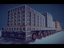 Besiege V 0.27 - The Terror Train (8000 pieces) with wagons and stuff.