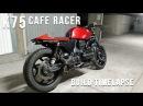 BMW K75 Cafe racer - Full Timelapse Build