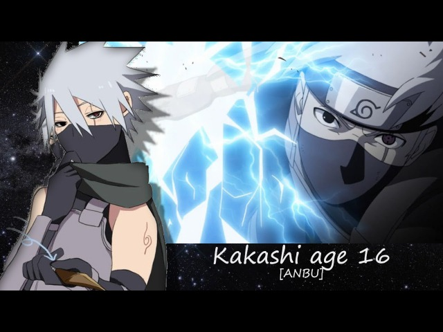 Naruto Characters: Hatake Kakashi's Evolution「2017」
