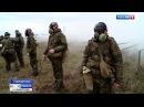 Занятия личного состава ракетной бригады на полигоне Молькино